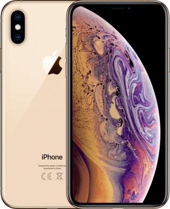 iOS Mobilný telefón Apple iPhone XS 64GB, zlatá