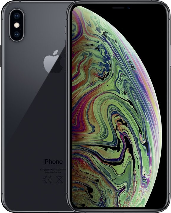 iOS Mobilný telefón Apple iPhone XS MAX 64GB, šedá