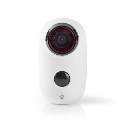 IP kamera IP kamera Nedis WIFICBO10WT, dobíjacie, pohybový senzor, 6000mAh