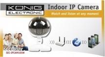 IP kamery Nedis SEC-IPCAM105W IP kamera,640x480,5m,biela ROZBALENÉ