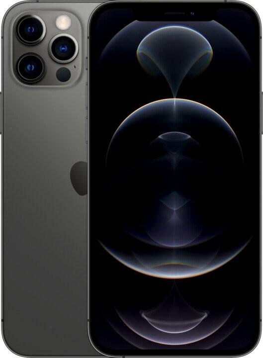 iPhone 12 Mobilný telefón Apple iPhone 12 Pro 256GB, sivá
