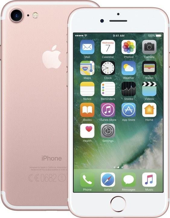 iPhone Mobilný telefón Apple iPhone 7 32GB, ružová