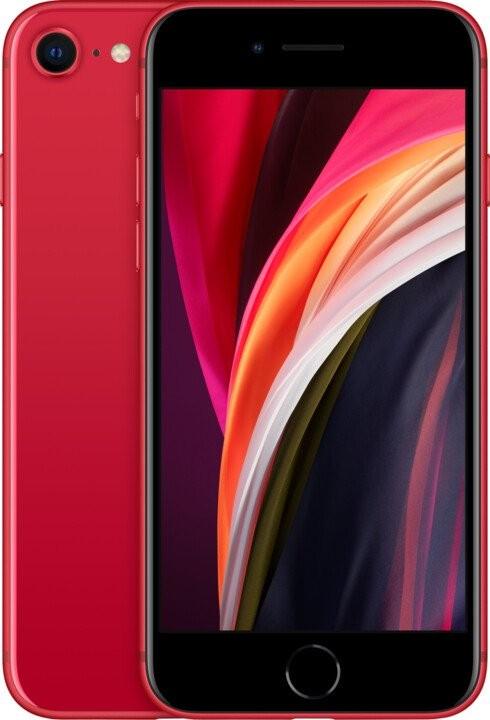 iPhone SE Mobilný telefón Apple iPhone SE (2020) 128GB, červená