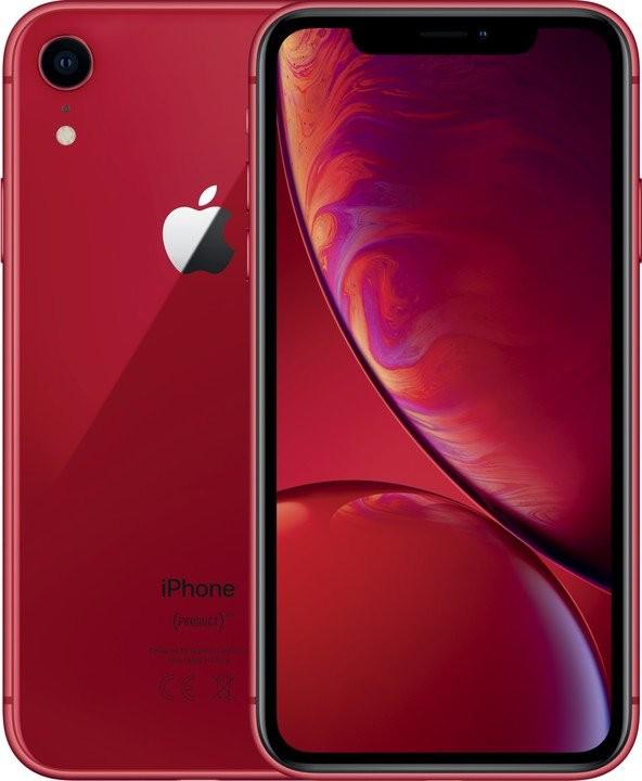 iPhone XR Mobilný telefón Apple iPhone XR 128GB, červená