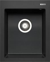 Istros - Granitový drez 41x50, 1B, čierna