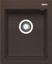 Istros - Granitový drez 41x50, 1B, hnedá