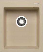 Istros - Granitový drez 41x50, 1B, moka