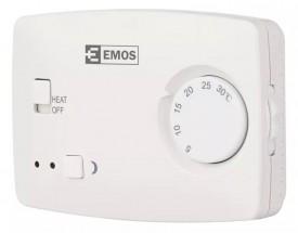 Izbový termostat Emos T3, drôtový, manuálna ROZBALENÉ