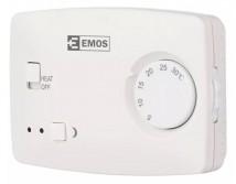 Izbový termostat Emos T3, drôtový, manuálna