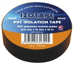 Izolačná páska Emos F61512, 10m, čierna