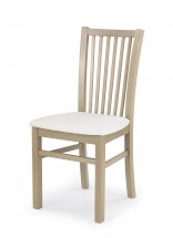 Jacek - Jedálenská stolička (biela, dub sonoma)