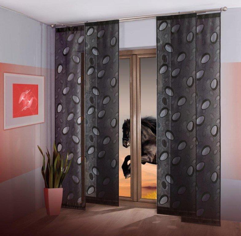 Japonská stěna black (50x240)