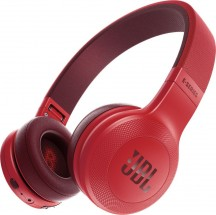 JBL slúchadlá E45BT, červená