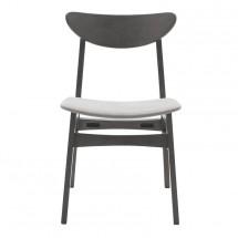 Jedálenská stolička Abbi sivá