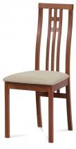 Jedálenská stolička Alora béžová, čerešňa