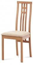 Jedálenská stolička Alora krémová, buk