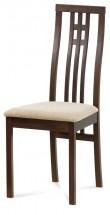 Jedálenská stolička Alora krémová, orech