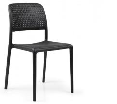 Jedálenská stolička Bora (antracite) - II. akosť