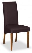 Jedálenská stolička Corina (orech/hnedá) - II. akosť