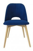 Jedálenská stolička Grede (dub sonoma, modrá)