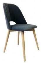 Jedálenská stolička Grede (dub sonoma, sivá)