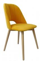 Jedálenská stolička Grede (dub sonoma, žltá)