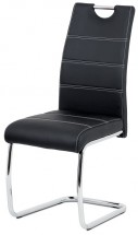 Jedálenská stolička Groto čierna