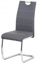 Jedálenská stolička Groto sivá