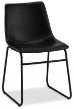 Jedálenská stolička Guaro čierna