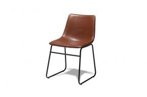 Jedálenská stolička Guaro hnedá, čierna
