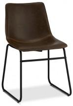 Jedálenská stolička Guaro tmavo hnedá, čierna