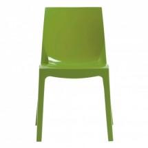 Jedálenská stolička Ice (verde) - II. akosť