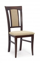 Jedálenská stolička Konrad béžová, orech