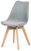 Jedálenská stolička Lupa sivá