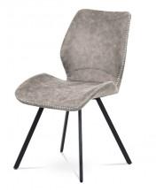 Jedálenská stolička Maddy béžová, čierna