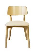 Jedálenská stolička Medal dub, béžová