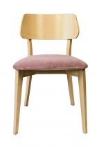 Jedálenská stolička Medal dub, fialová