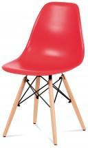 Jedálenská stolička Mila červená