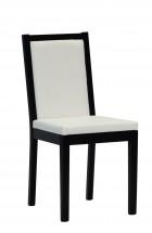 Jedálenská stolička Napoli (wenge/béžová) - II. akosť