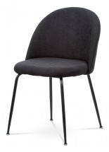 Jedálenská stolička Prudence (čierna)