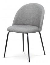 Jedálenská stolička Prudence (sivá, čierna)