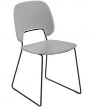 Jedálenská stolička Traffic-t sivá