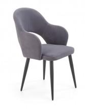 Jedálenská stolička Tunja sivá