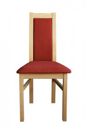 Jedálenské stoličky Jedálenská stolička Agáta, sonoma, bordó