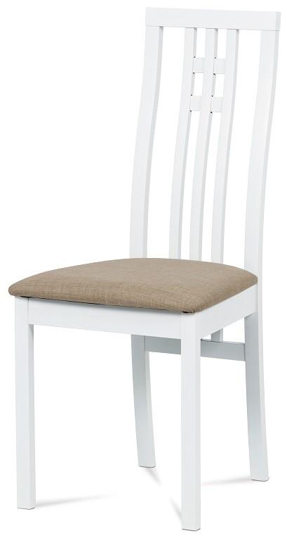Jedálenské stoličky Jedálenská stolička Alora béžová, biela