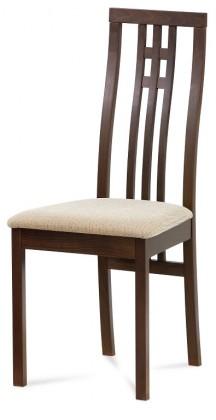 Jedálenské stoličky Jedálenská stolička Alora krémová, orech