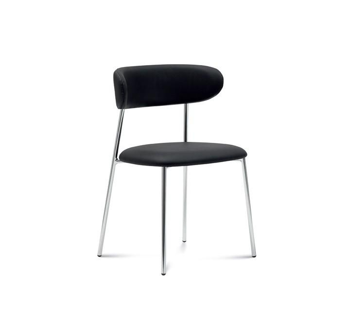 Jedálenské stoličky Jedálenská stolička Anais čierna