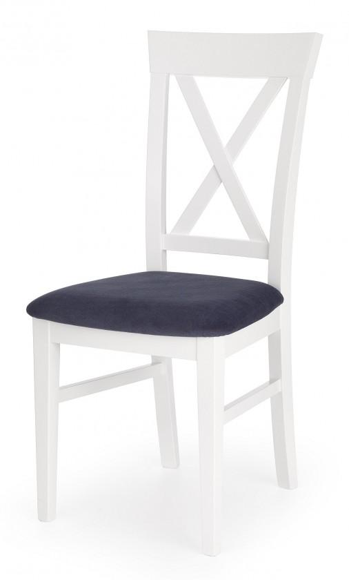Jedálenské stoličky Jedálenská stolička Bergamo (masívny buk biela, látka)