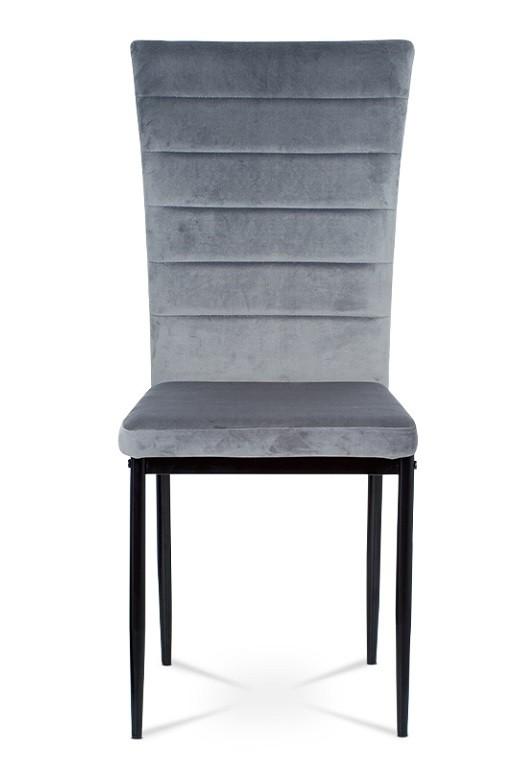 Jedálenské stoličky Jedálenská stolička Borge sivá/čierna