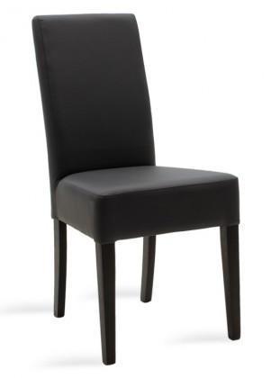 Jedálenské stoličky Jedálenská stolička Dasha wenge, sivá